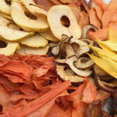 Чіпси з овочів і фруктів (асорті)